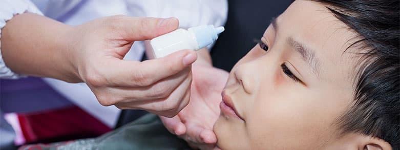 Egenvård av ögoninflammation